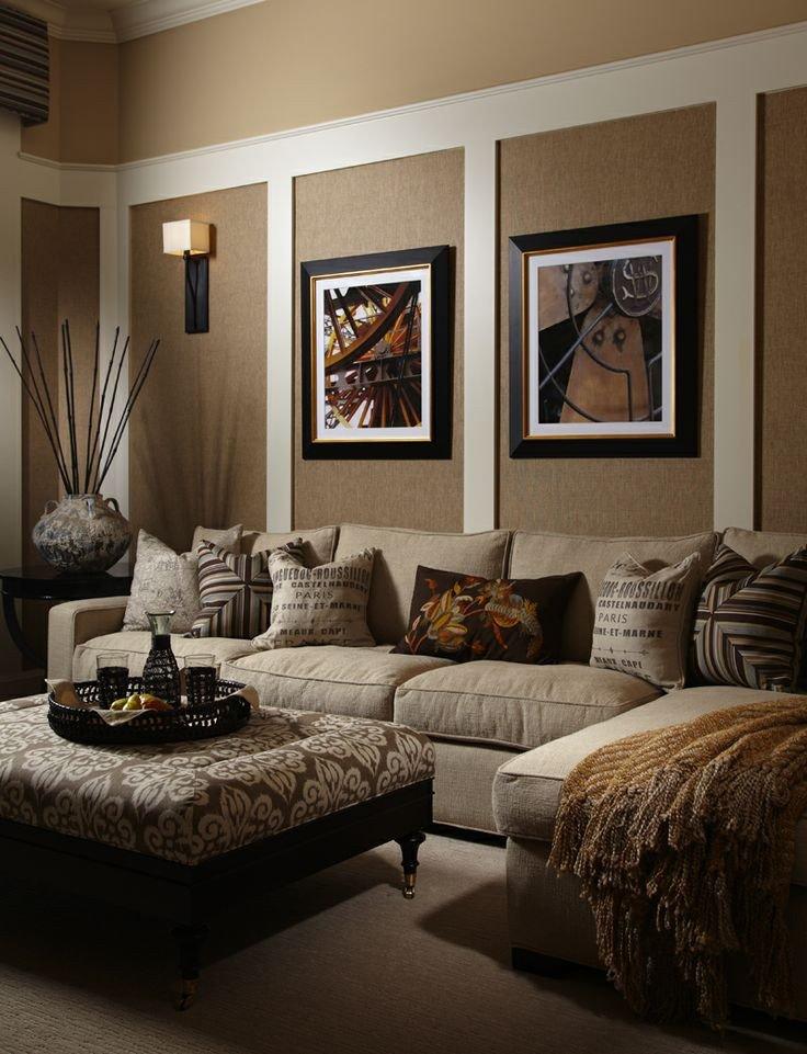 Living Room Wall Decor Ideas Beautiful 33 Beige Living Room Ideas Decoholic