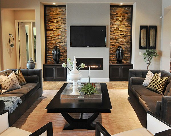 Living Room Wall Decor Ideas Elegant Home Decorating Living Room Ideas Inoutinterior