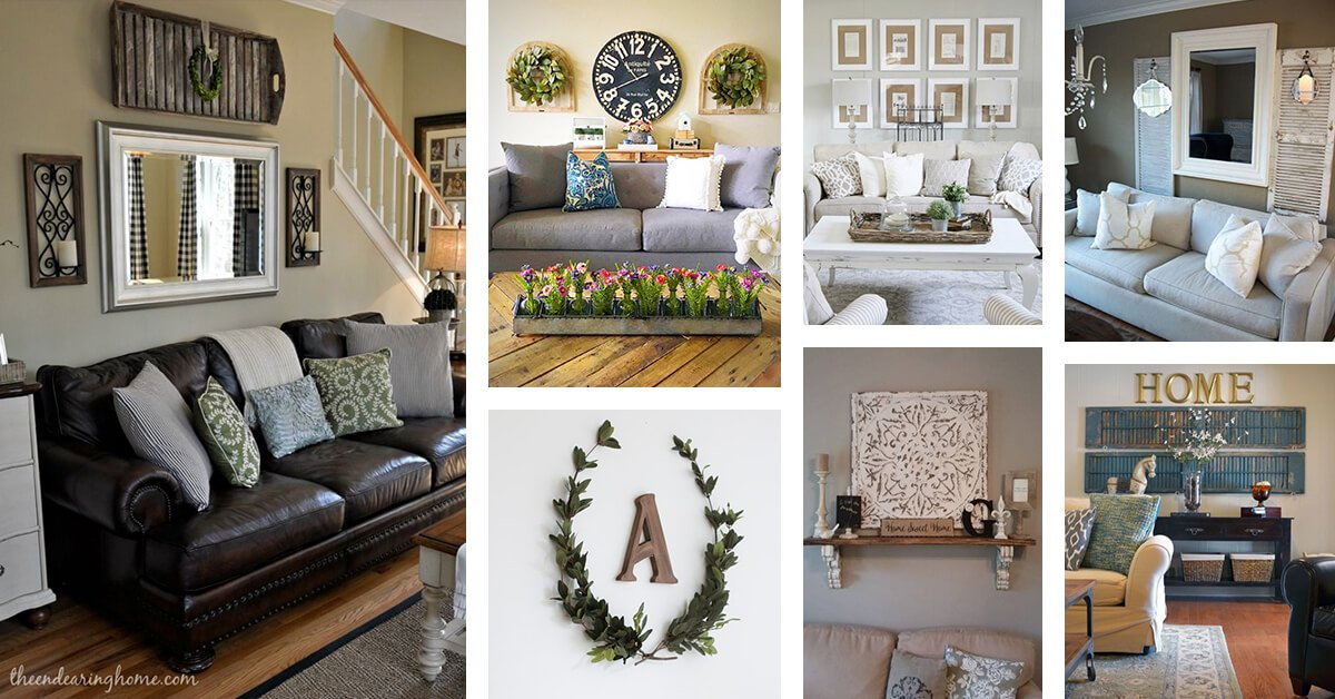 Living Room Wall Decorating Ideas Beautiful 33 Best Rustic Living Room Wall Decor Ideas and Designs for 2019