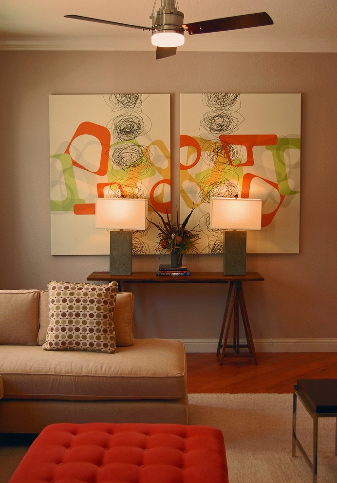 Living Room Wall Decorating Ideas Lovely 25 Creative Canvas Wall Art Ideas for Living Room