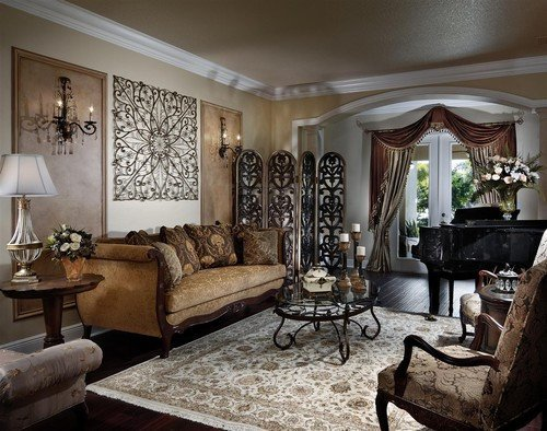 Living Room Wall Decorating Ideas Unique Traditional Living Room Design with Metal Wall Panels Wall Decoration Wall Decoration