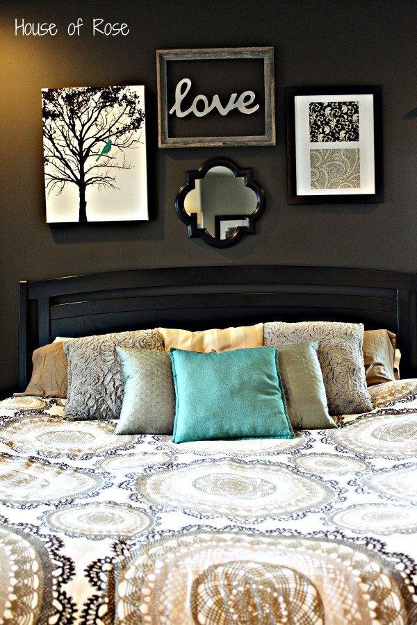 Master Bedroom Wall Decor Ideas Beautiful Master Bedroom Wall Makeover