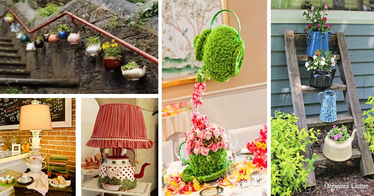 May Rich Company Home Decor Unique 15 Inspiring and Easy Ideas to Use Teapots at Home Decor the Art In Life