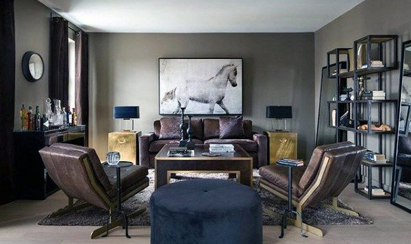 Mens Living Room Wall Decor Lovely 100 Bachelor Pad Living Room Ideas for Men Masculine Designs