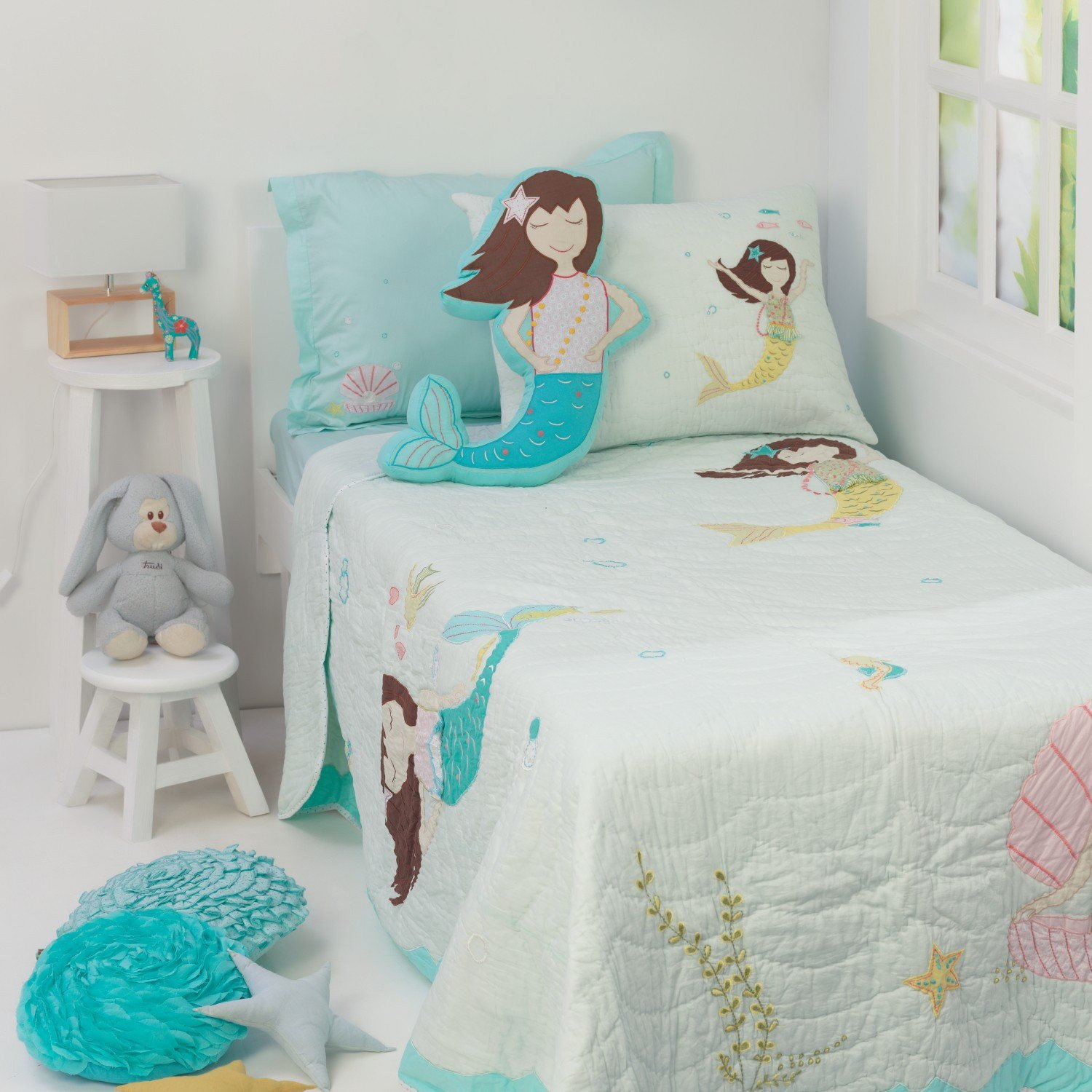 Mermaid Decor for Kids Room Awesome Magical Mermaids Kids Bedding Set Kid Room Decor