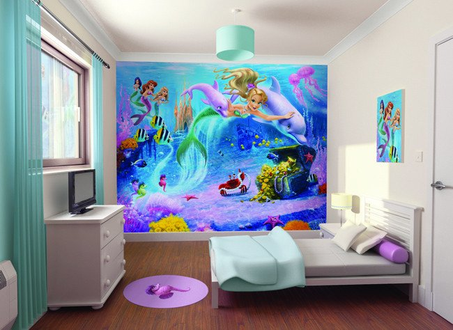 Mermaid Decor for Kids Room Best Of Mermaid theme Décor for Kids – Interior Designing Ideas