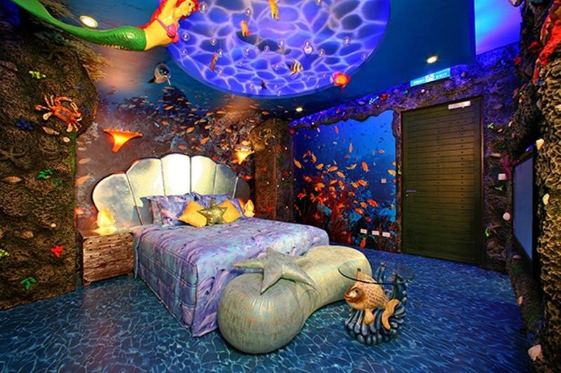 Mermaid Decor for Kids Room Elegant 15 Dazzling Mermaid themed Bedroom Designs for Girls Rilane