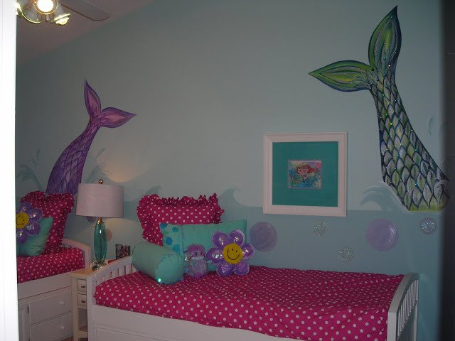 Mermaid Decor for Kids Room Inspirational Girl S Mermaid Room Design Dazzle