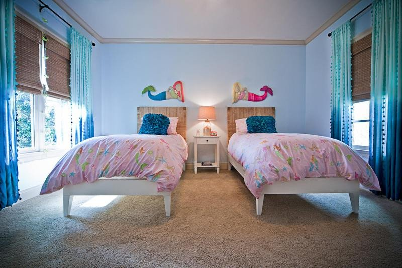 Mermaid Decor for Kids Room Lovely 15 Dazzling Mermaid themed Bedroom Designs for Girls Rilane