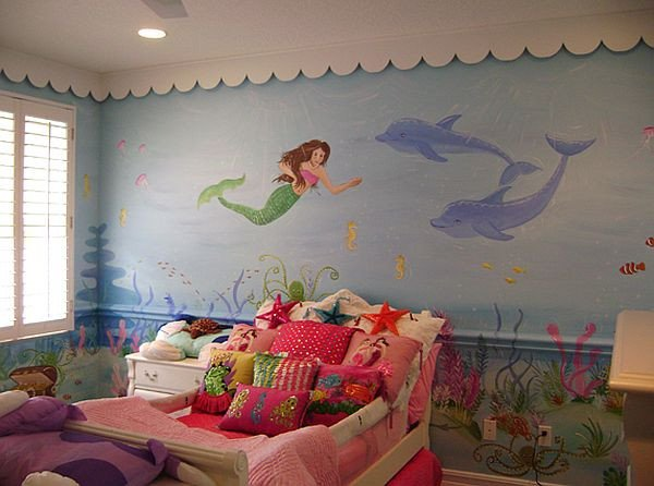 Mermaid Decor for Kids Room Lovely Mermaid theme Décor for Kids – Interior Designing Ideas