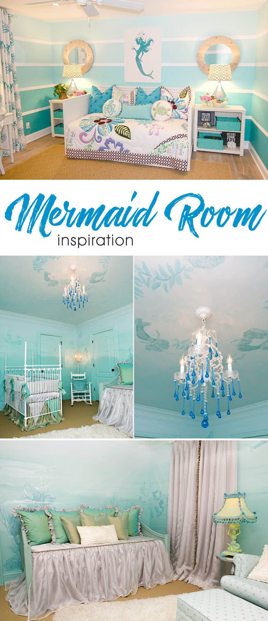 Mermaid Decor for Kids Room Luxury Mermaid Inspired Child S Room Create Play Travel