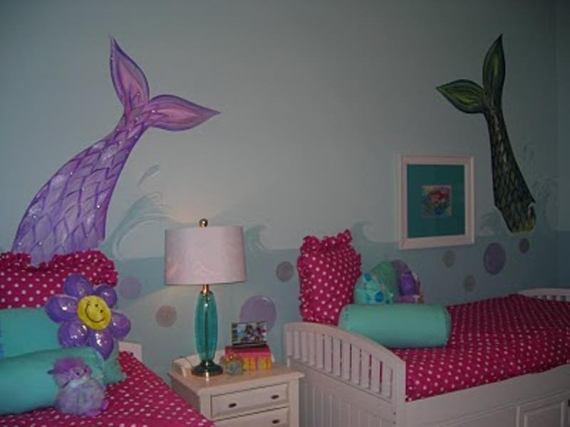 Mermaid Decor for Kids Room Unique 15 Dazzling Mermaid themed Bedroom Designs for Girls Rilane