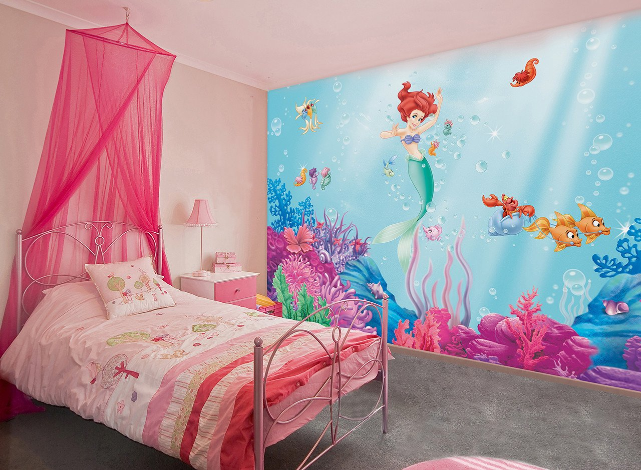 Mermaid Decor for Kids Room Unique 15 Disney Inspired Rooms that Will Make You Want to Redo Your Kid S Bedroom