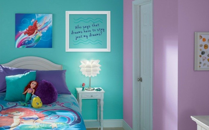 Mermaid Decor for Kids Room Unique Little Mermaid Bedroom Decor Colors and Ideas