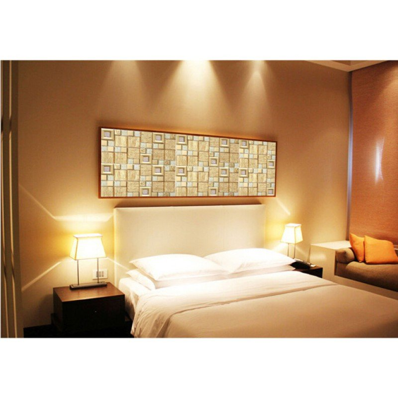 Metal Wall Decor for Bedroom Awesome Gold Crystal Glass Mosaice Tile Coating Metal Tile Gold 304 Stainless Steel Free Shipping Wall