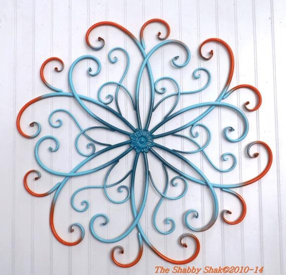 Metal Wall Decor for Bedroom Best Of Items Similar to Metal Wall Art Bedroom Wall Decor orange Teal Aqua Home Decor On Etsy