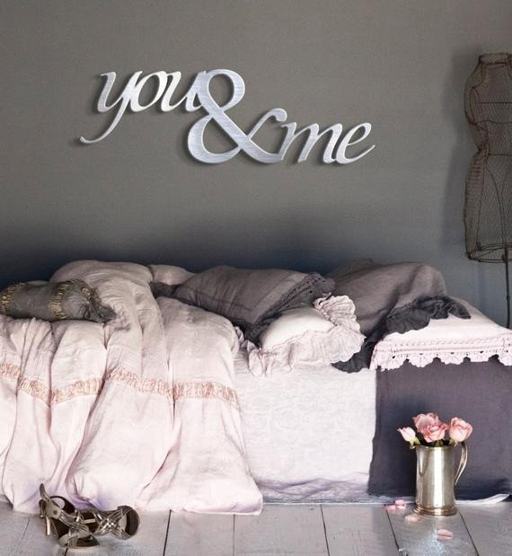 Metal Wall Decor for Bedroom Fresh You & Me Metal Wall Art Bedroom Art Wedding by Inspiremetals