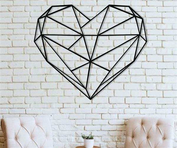 Metal Wall Decor for Bedroom Inspirational Metal Wall Art Geometric Heart Metal Wall Decor Home Fice Bedroom Decoration