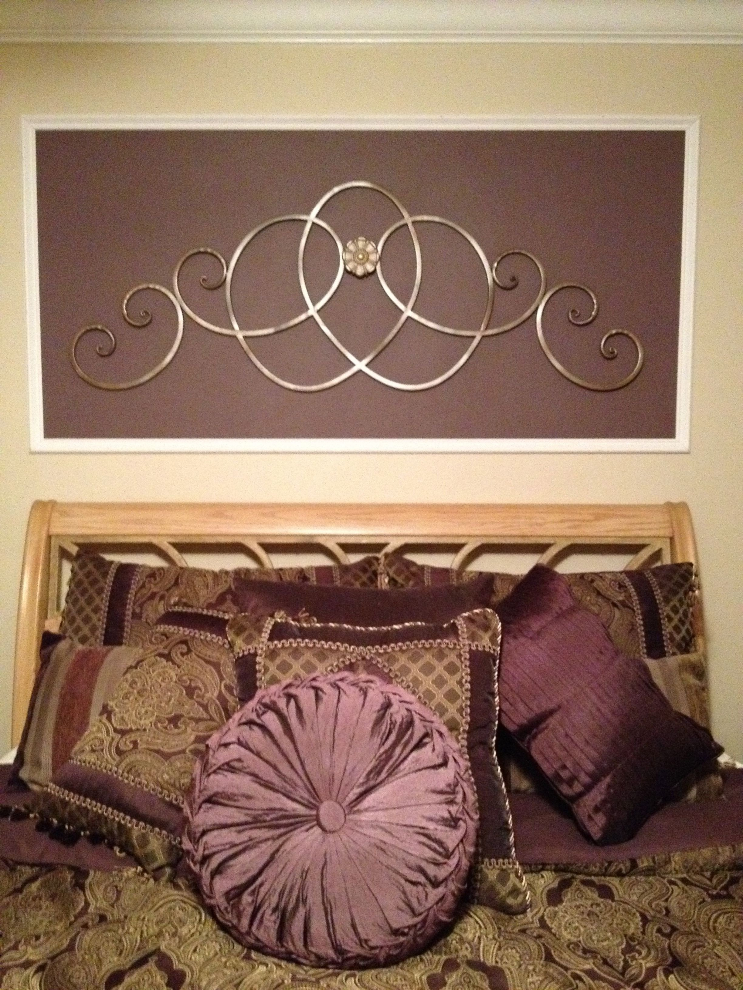 Metal Wall Decor for Bedroom Lovely My Bedroom Purple Picture Molding Metal Scroll Wall Decor