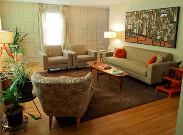 Mid Century Living Room Decor Lovely 79 Stylish Mid Century Living Room Design Ideas