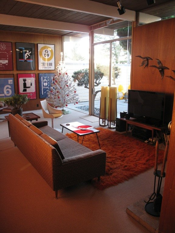 Mid Century Living Room Decor Luxury Troy Rearranges His Collections In His New Eichler Ranch House Retro Renovation