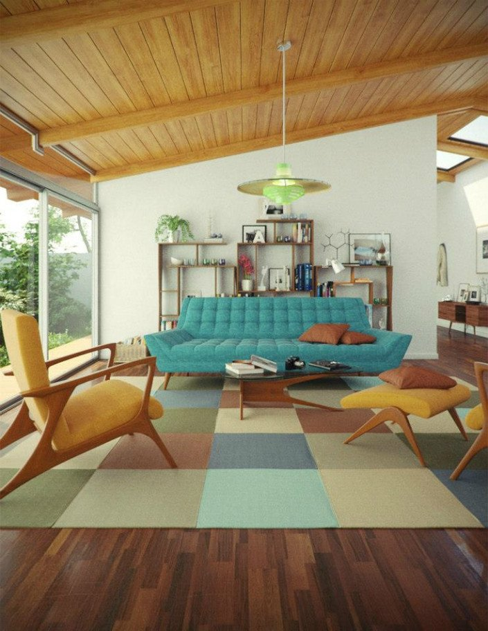 Mid Century Living Room Decor New 25 Midcentury Living Room Design Ideas Decoration Love