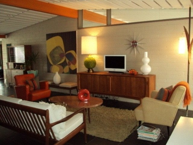 Mid Century Living Room Decor New 79 Stylish Mid Century Living Room Design Ideas