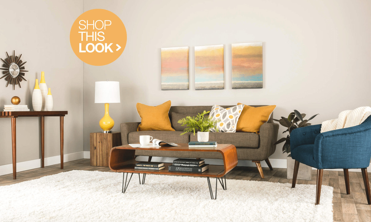 Trend Alert Mid Century Modern Furniture and Decor Ideas Overstock
