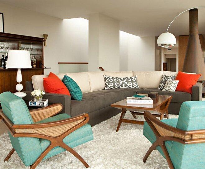 Mid Century Modern Decor Ideas New Mid Century Modern Style Decorating