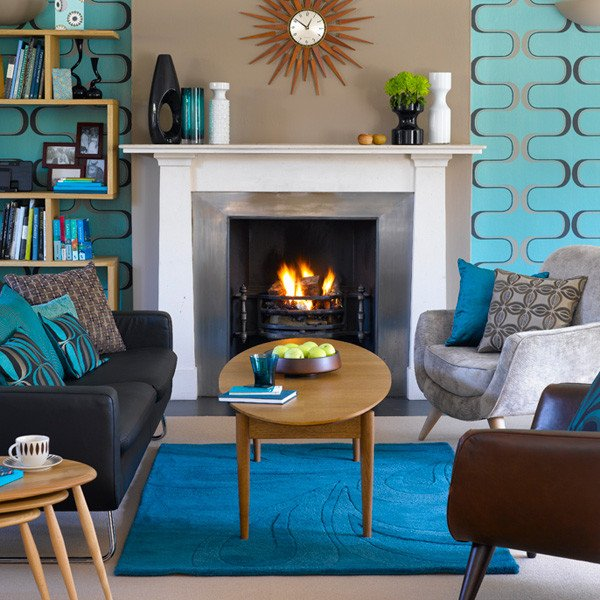Mid Century Modern Home Decor Luxury Make It Pop with Turquoise Inmod Style