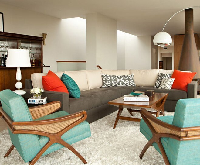Mid Century Modern Home Decor New Mid Century Modern Style Decorating