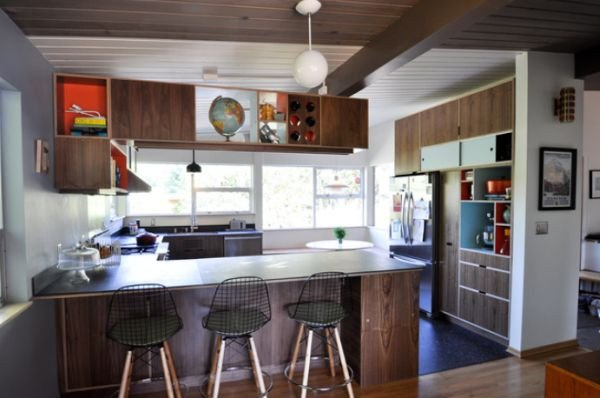 Mid Century Modern Kitchen Decor Beautiful Elegant Midcentury Modern Kitchen Interior Design Ideas