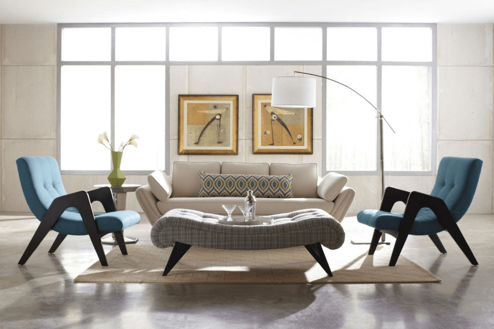 Mid Century Modern Living Room Decorating Ideas Awesome before & after Mid Century Modern Living Room Design Line Decorilla