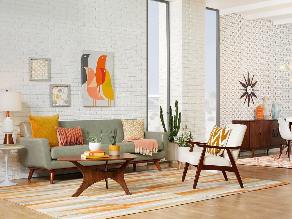 Mid Century Modern Living Room Decorating Ideas Unique 20 Mid Century Modern Living Room Ideas
