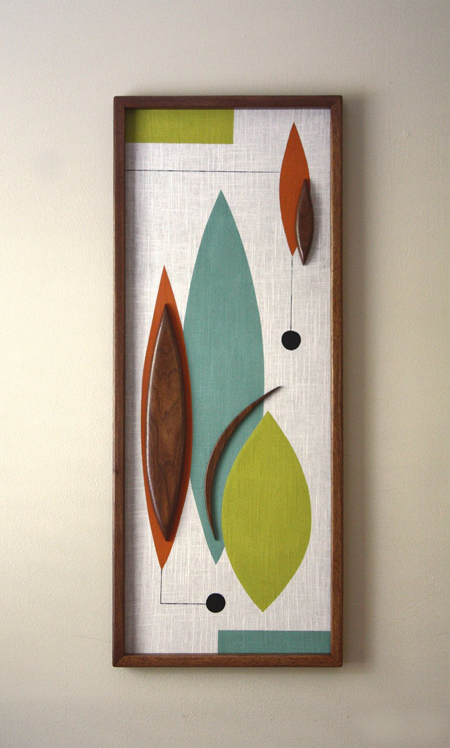 Mid Century Modern Wall Decor Fresh Mid Century Danish Modern Witco Styled Wall Art Nonnie