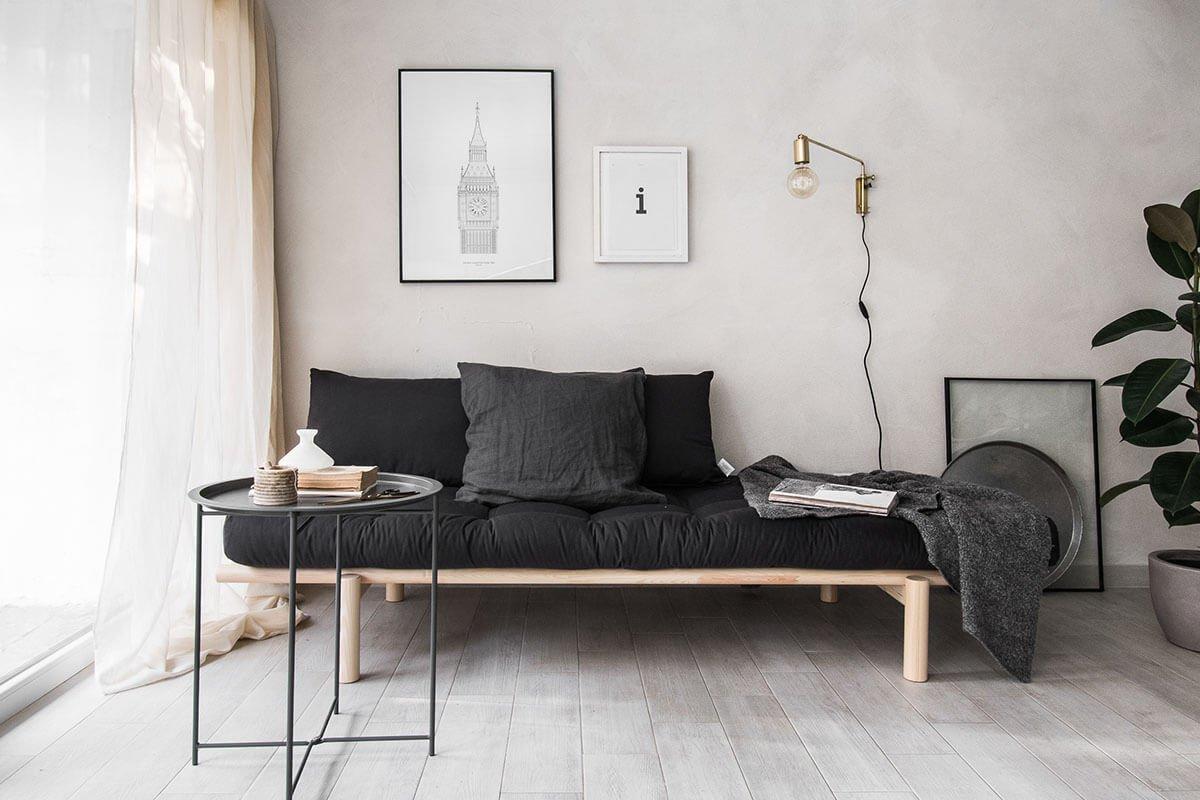 Minimalist Small Living Room Ideas Elegant Industrial Minimalist Living Room Bedroom Bo — Homebnc