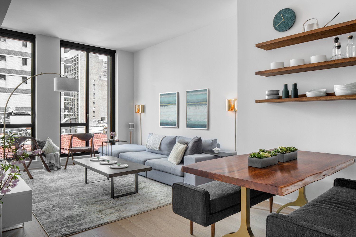 Minimalist Small Living Room Ideas Luxury before & after A Well Manicured Minimalist Apartment