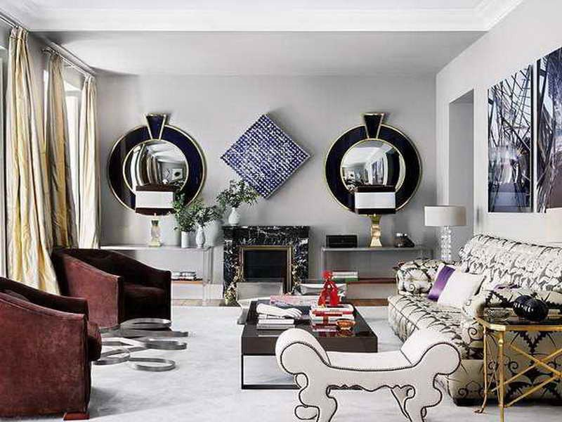 Mirrors Contemporary Living Room Beautiful 9 Living Room Wall Mirrors for Sweet Home Interior Design Inspirations
