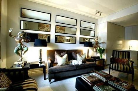 Mirrors Contemporary Living Room Luxury Pamba Boma Living Room Décor Using Wall Mirrors