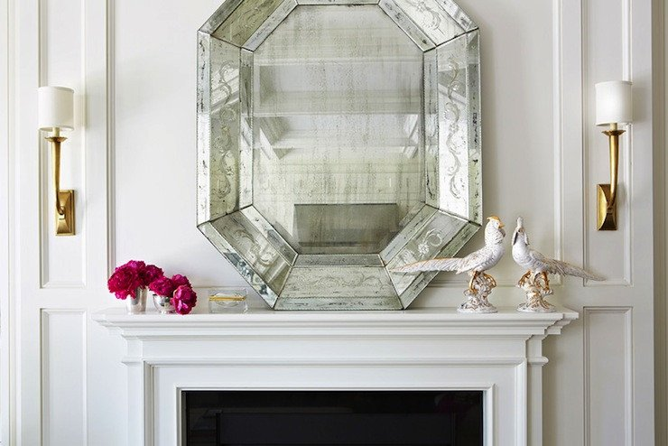 Mirrors Contemporary Living Room New Mirrors Fireplace Contemporary Living Room Amy Neunsinger