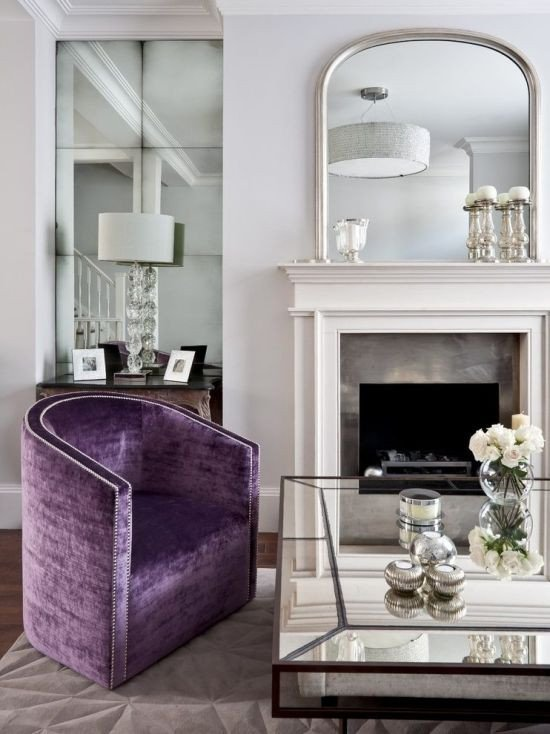 Mirrors Contemporary Living Room Unique Living Room Decorating Ideas with Mirrors