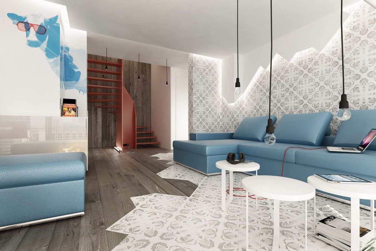 Modern Blue Living Room Decorating Ideas Beautiful Classically Cool Living Rooms