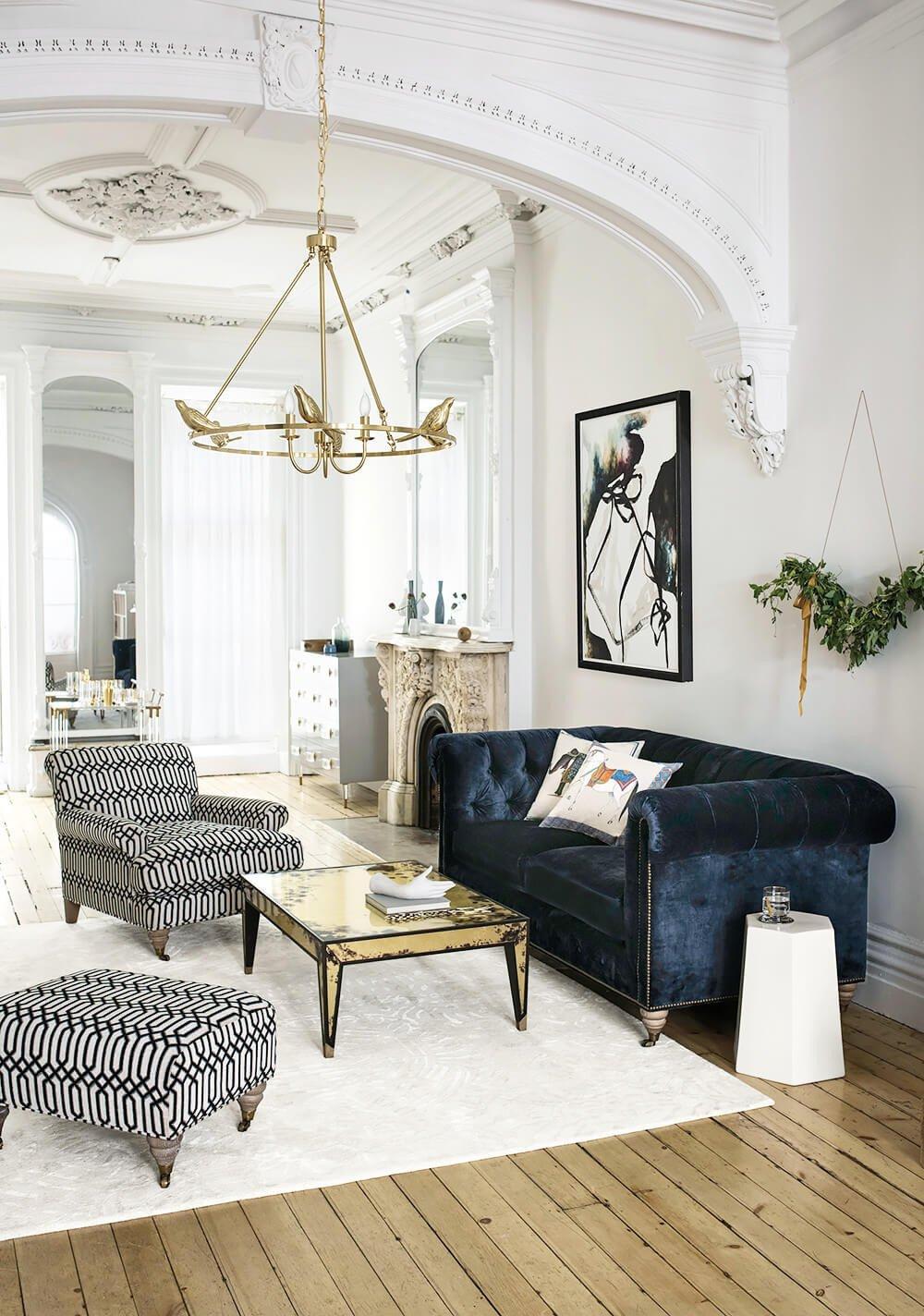Modern Blue Living Room Decorating Ideas Elegant 26 Best Modern Living Room Decorating Ideas and Designs for 2019