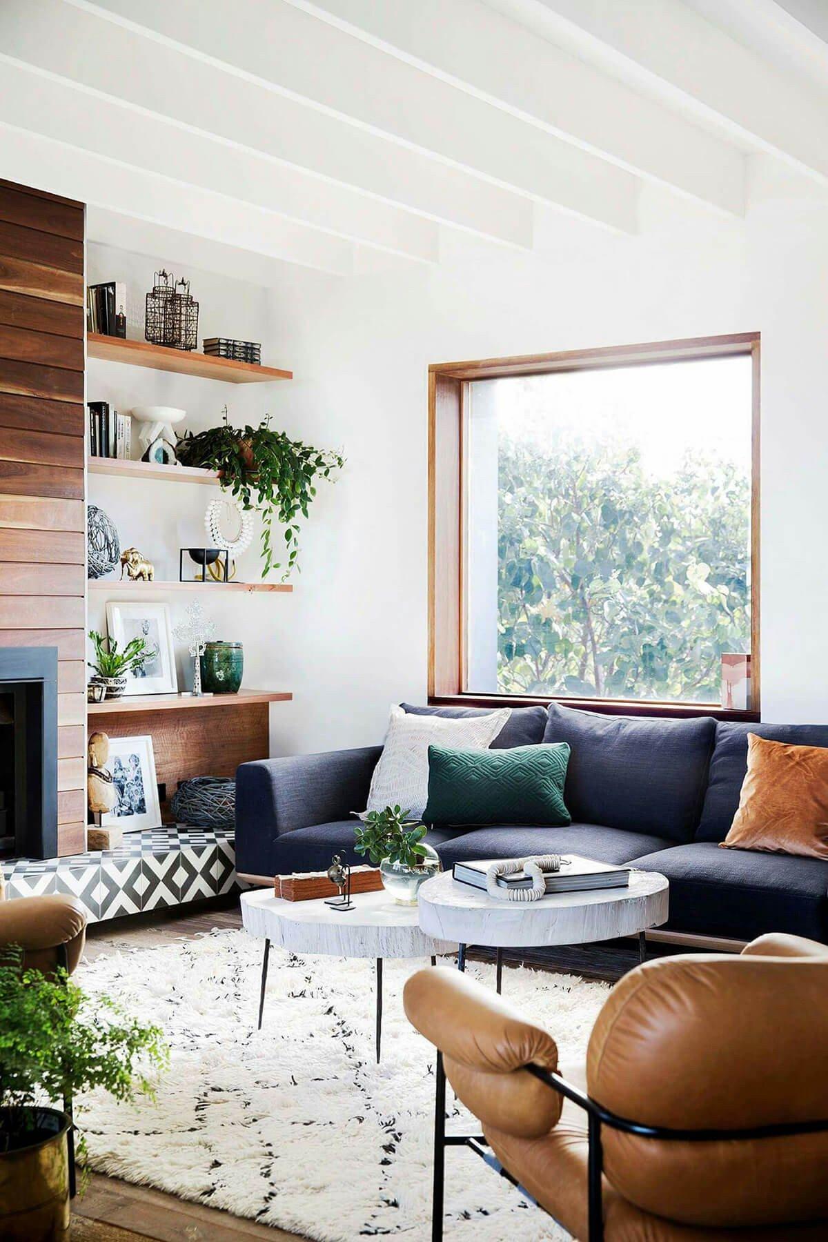 Modern Blue Living Room Decorating Ideas Fresh 26 Best Modern Living Room Decorating Ideas and Designs for 2019