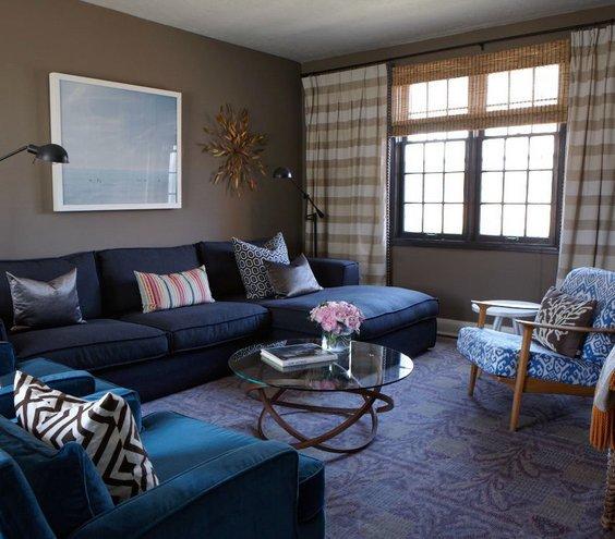 Modern Blue Living Room Decorating Ideas Lovely Feeling the Blues