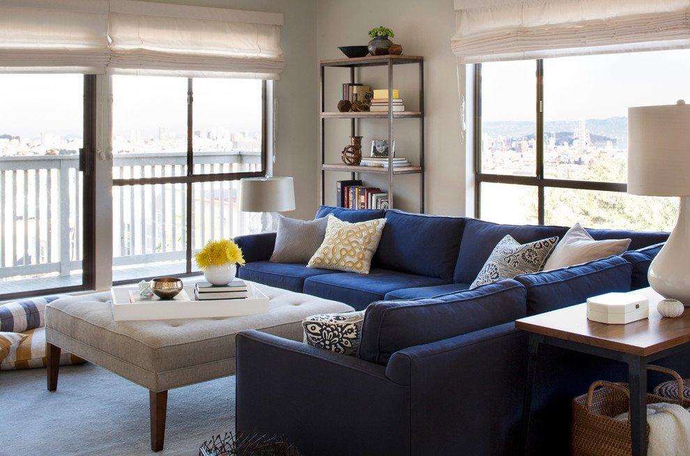 Modern Blue Living Room Decorating Ideas New Shocking L Shaped sofa Decorating Ideas • Irastar
