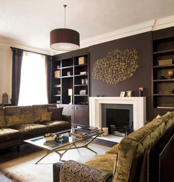 Modern Brown Living Room Decorating Ideas Unique Chocolate Brown Interior Colors and fortable Interior Decorating Ideas
