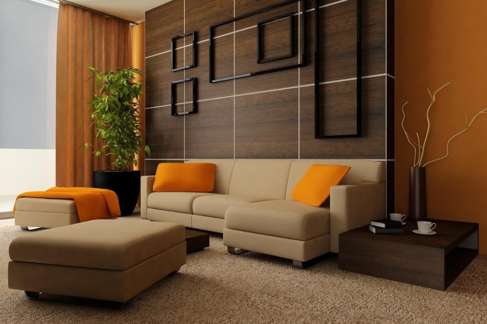 Modern Brown Living Room Decorating Ideas Unique Living Room Curtains the Best Photos Of Curtains Design assistance In Selection