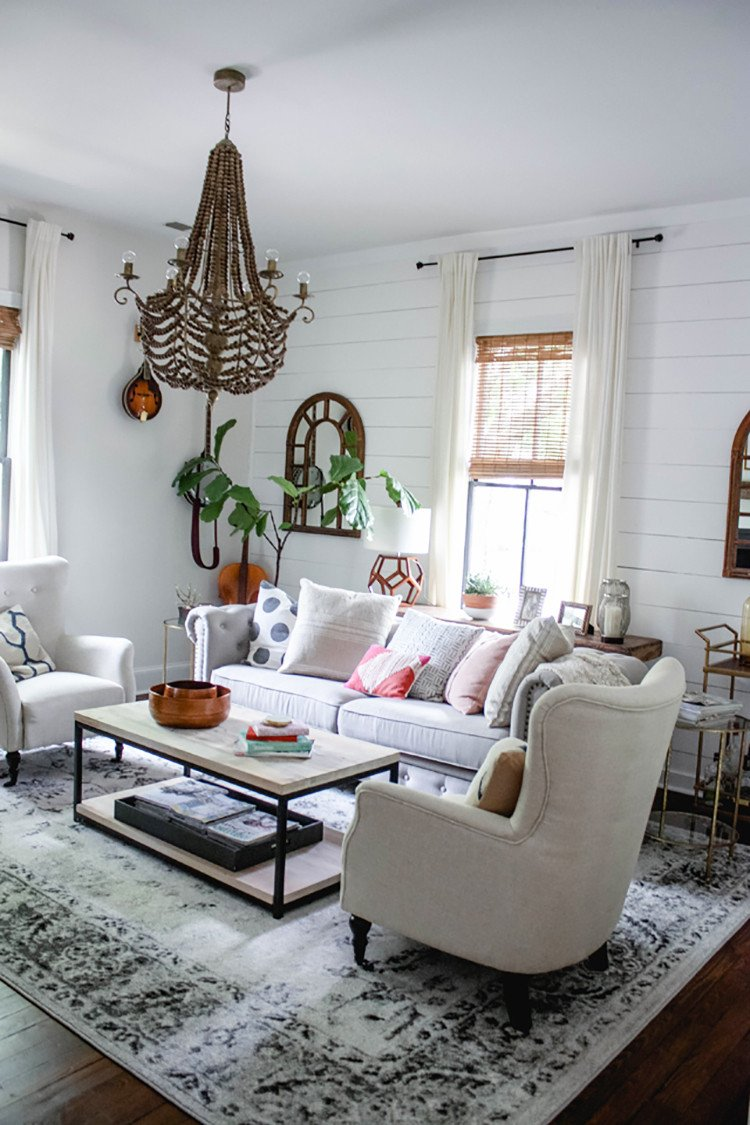 Modern Chic Living Room Decorating Ideas Fresh Modern Farmhouse Living Room Home Decor Style Swap