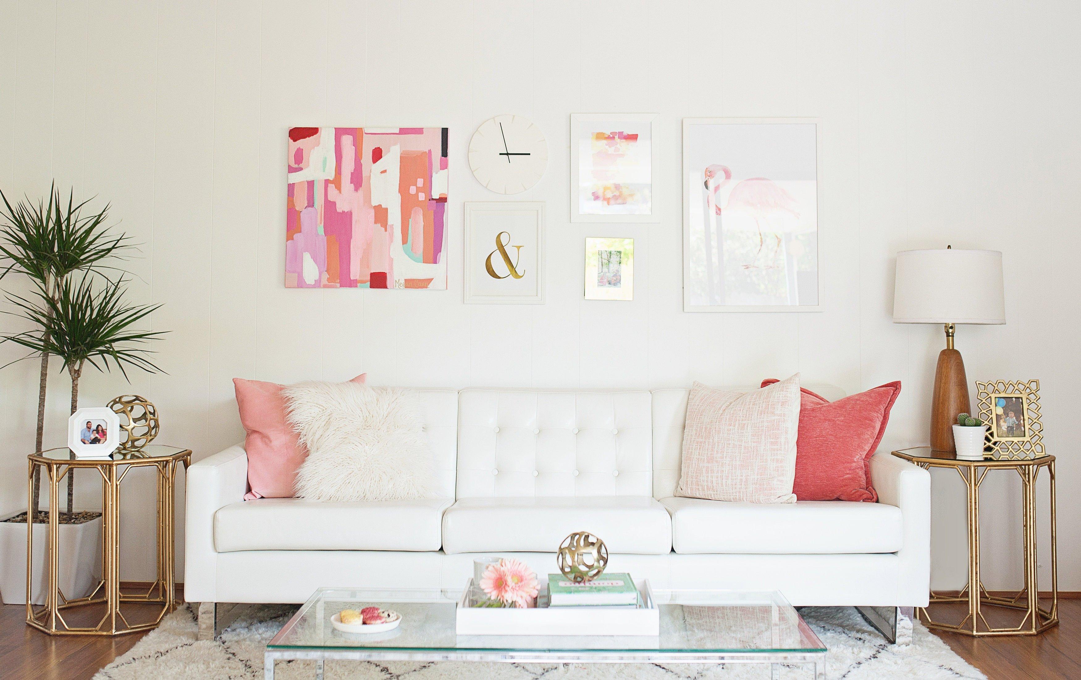 Modern Chic Living Room Decorating Ideas Luxury Melissa Johnson S Modern Living Room Makeover